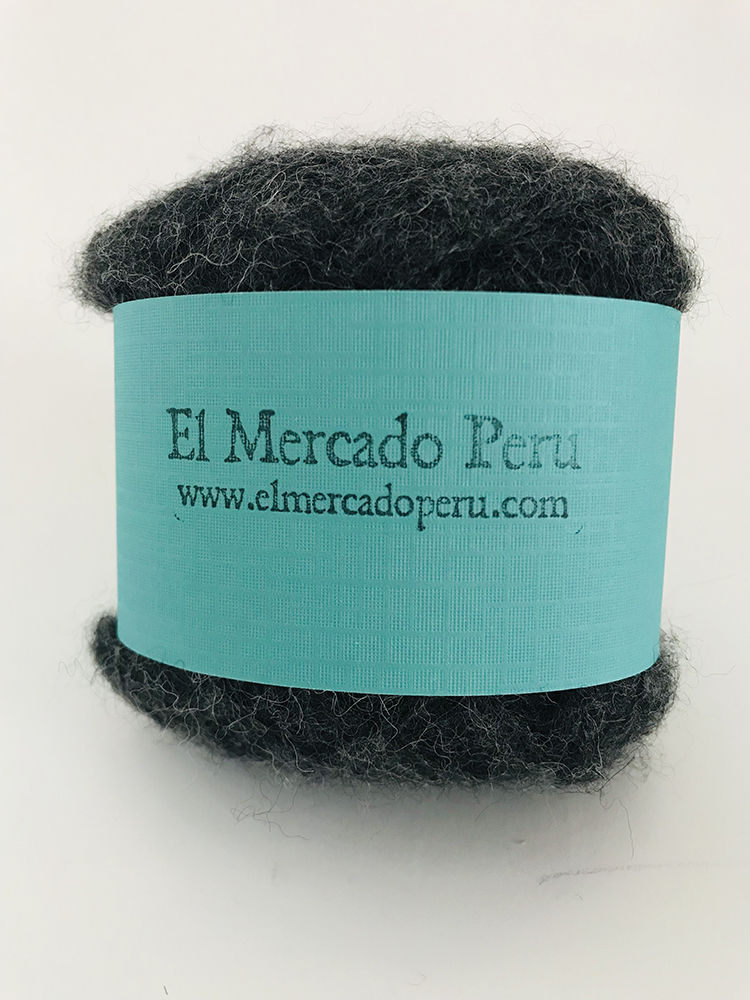 Nazca Baby Alpaca Yarn Charcoal Grey